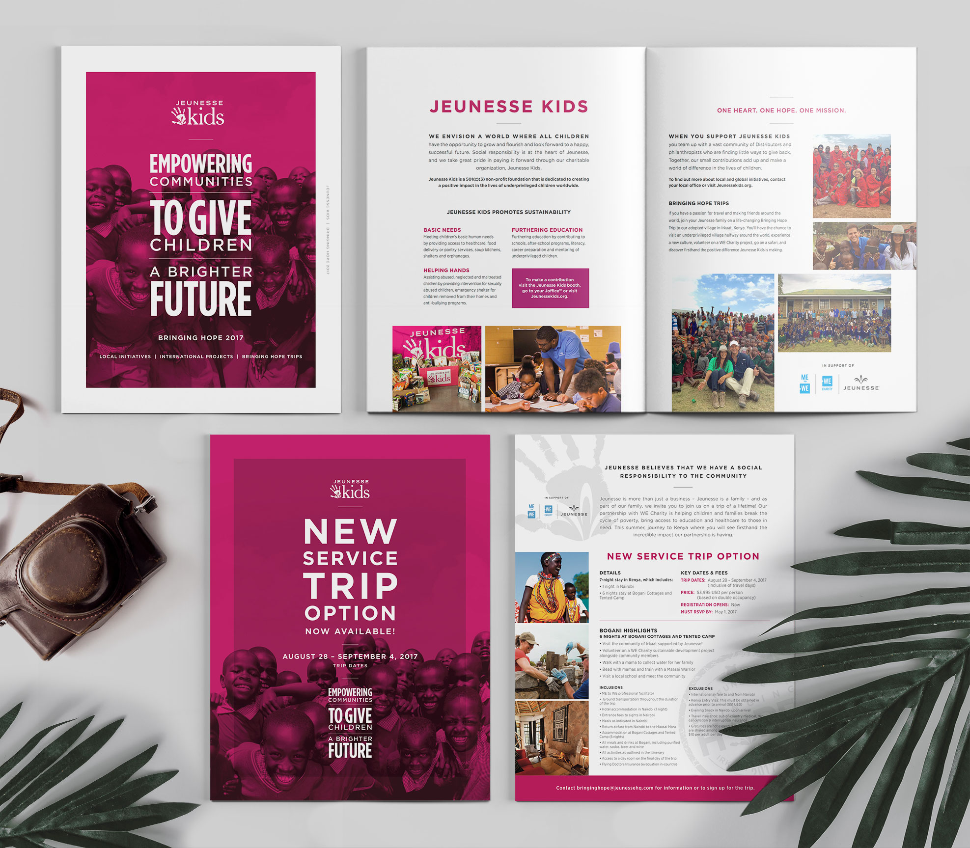 Jeunesse Kids collateral