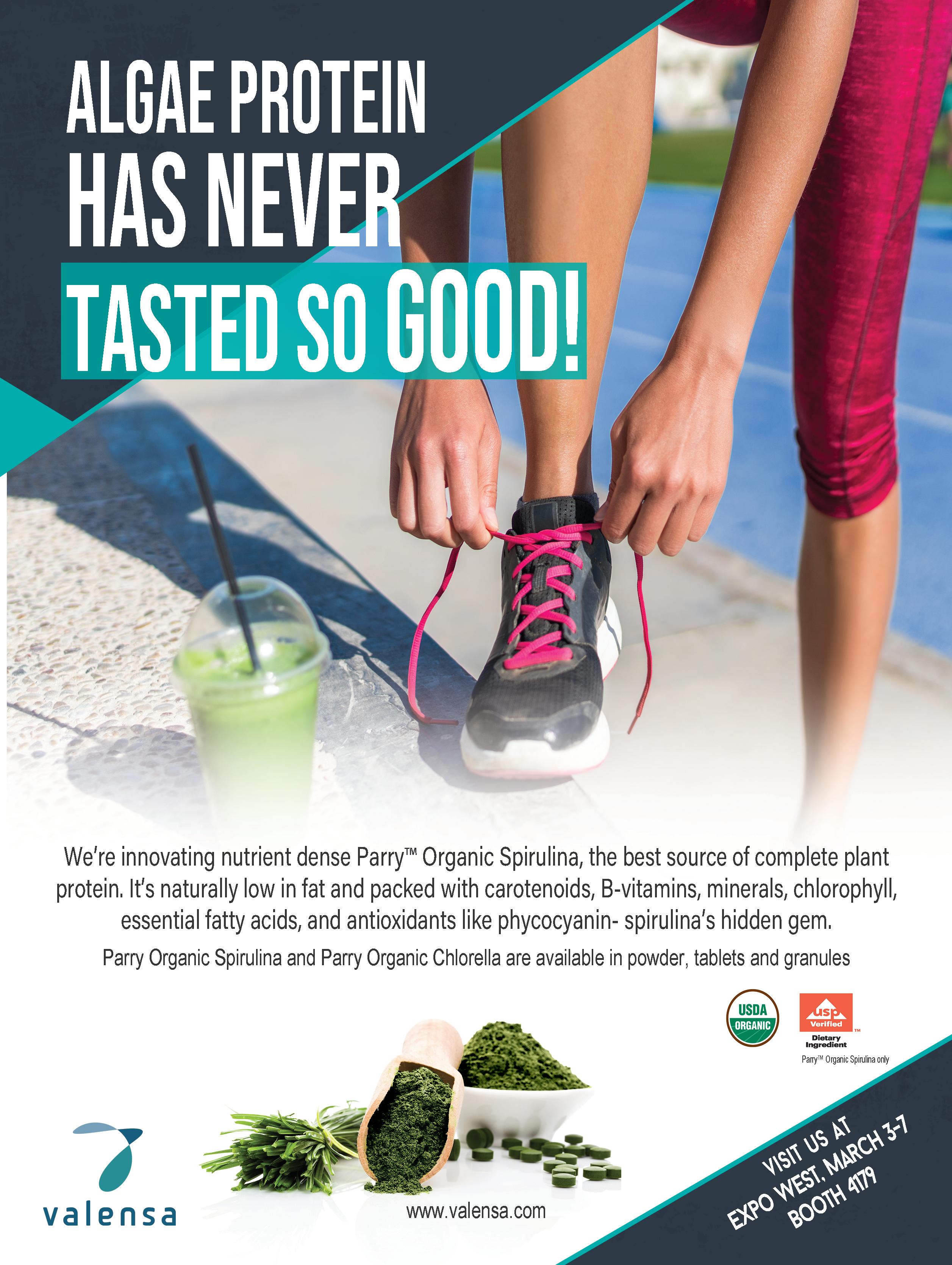 Tradeshow ad for Spirulina