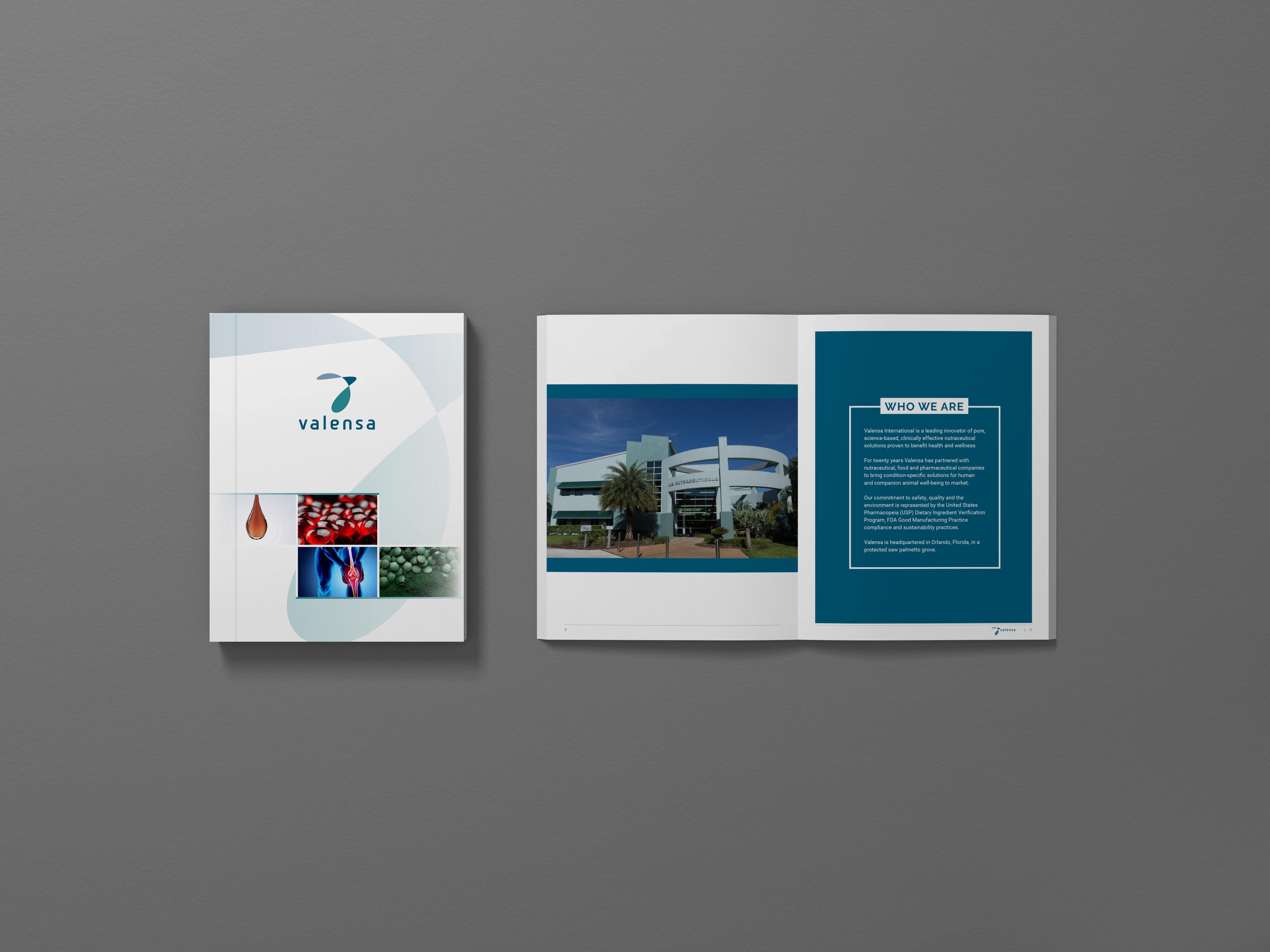 Valensa product brochure